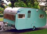 Vintage caravans