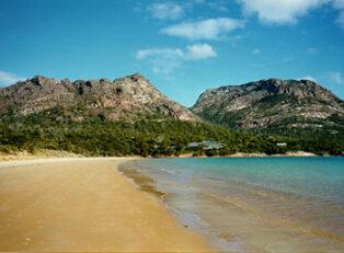 Oyster Bay in Tasmania