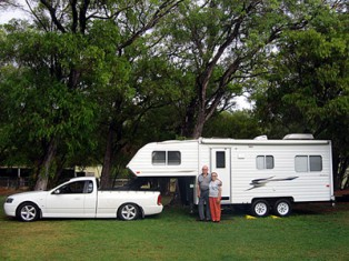 Fifth wheelers are spacious and easy to manoeuvre