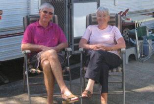 Grey nomads of Australia are happy