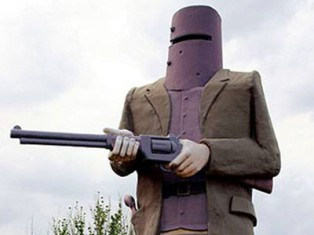 Ned Kelly at Wagaratta