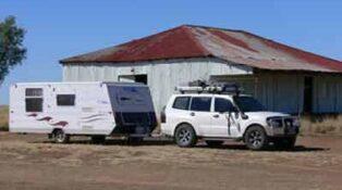Grey nomads of Australia caption