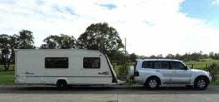 Shipping a grey nomad caravan from the UK