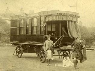 The Wanderer caravan in UK