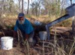 Grey nomad fossickers, Queensland