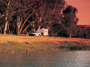 Loxton in South Australia is a great grey nomad destination