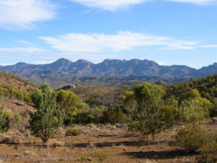 Caravans heads Outback camping