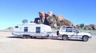 Caravan trip for unwell grey nomads