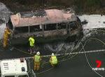 Pacific highway campervan fire