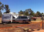 Grey nomads crash into his own caravan