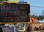 Newell Highway closure