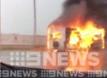 caravan fire scares grey nomads