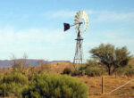 Outback, windmills, Queensland, Grey nomads