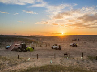 Stockton beach camping