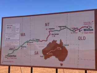 Outback Way upgrade a boost for grey nomads