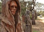 Chainsaw sculpture drive draws grey nomads