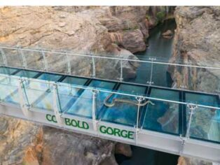 Cobbold Gorge glass bridge