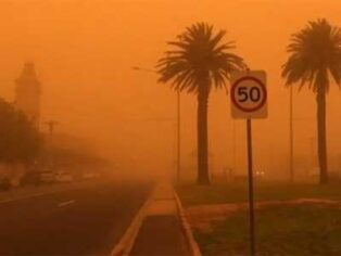Dust storms in Mildura