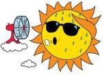Grey nomads and heatwave