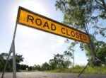 Brisbane Valley Highway caravan rollover