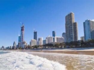 Grey nomads are expected to desert the Gold Coast in favour of bushfire-ravaged areas.