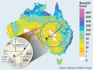 rainfall in Outback to bring grey nomads