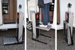 Motorstep to help grey nomads with caravan steps