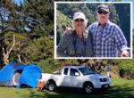 tent grey nomads