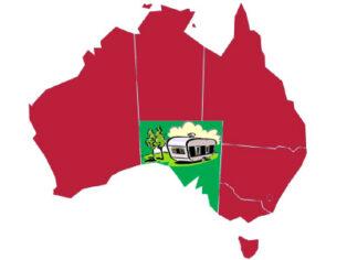 grey nomads in regional South Australia
