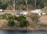 Calliope campsite much loved by grey nomads
