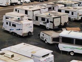 Grey nomads and caravan sales