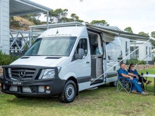 Mercedes Sprinter Camper Vans with Smartbar