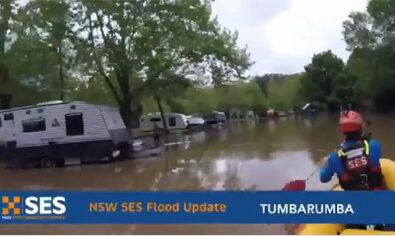 caravan park floods