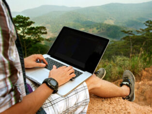 Digital nomads heading for caravan parks