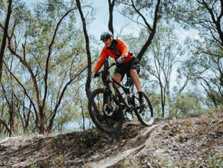 Mountain biking in Australian national parks