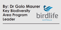 Golo Maurer, birdwatching Australia