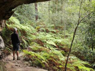 Grey nomads enjoy national park hikes