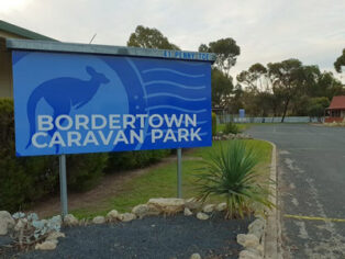 Bordertown Caravan Park.