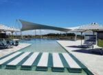 The pool at Oceanside RV Lifestyle Village, Burnett Heads.