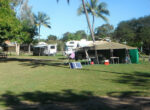 Ball Bay camping ground for grey nomads