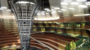 underground skyscraper