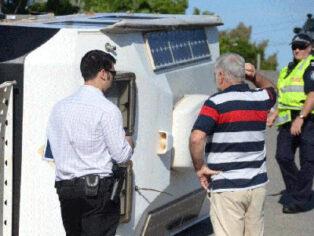 caravan theft in Townsville shocks grey nomads