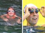 Maddy Gough swimming