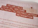 Victorian travel permits
