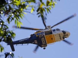 Rescue helicopter helps lost bushwalker