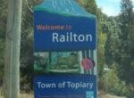 Railton free campsite